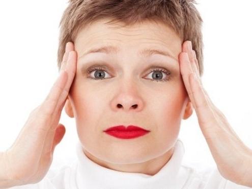 Stress veroorzaakt vaak hoofdpijn